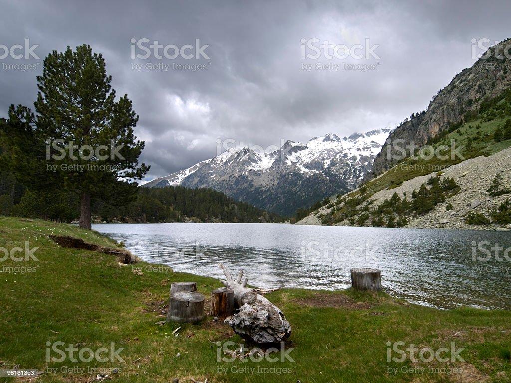 Lake Llong royalty-free stock photo