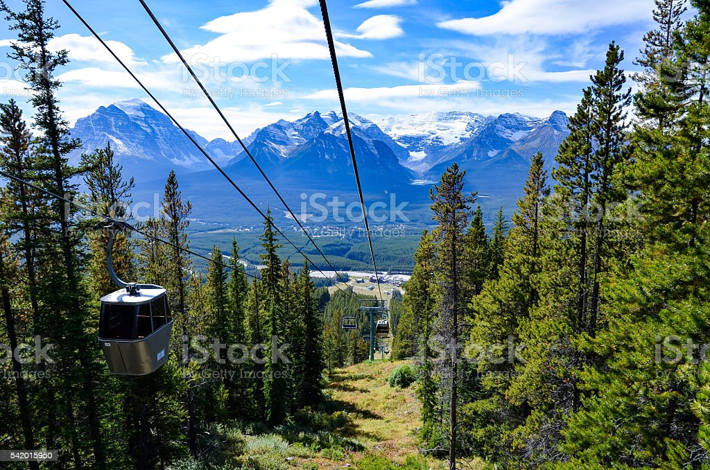 Lake Louise, Canadian Rockies stock photo