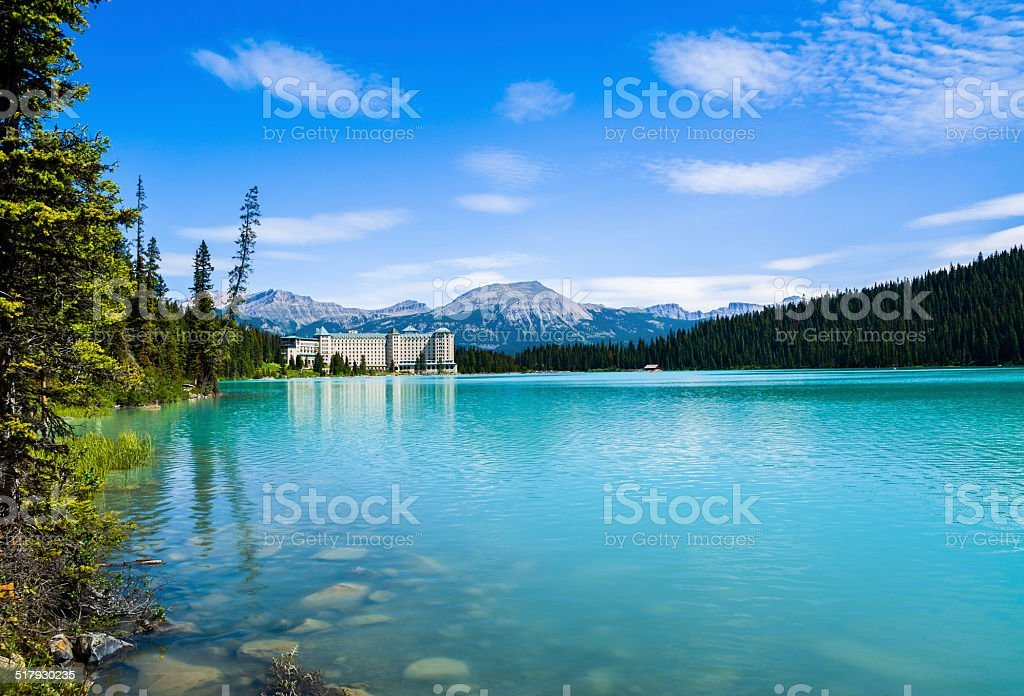 Lake Louise stock photo