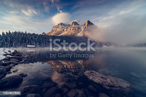 Lake Louise,is a glacial lake within Banff National Park in Alberta, Canada.