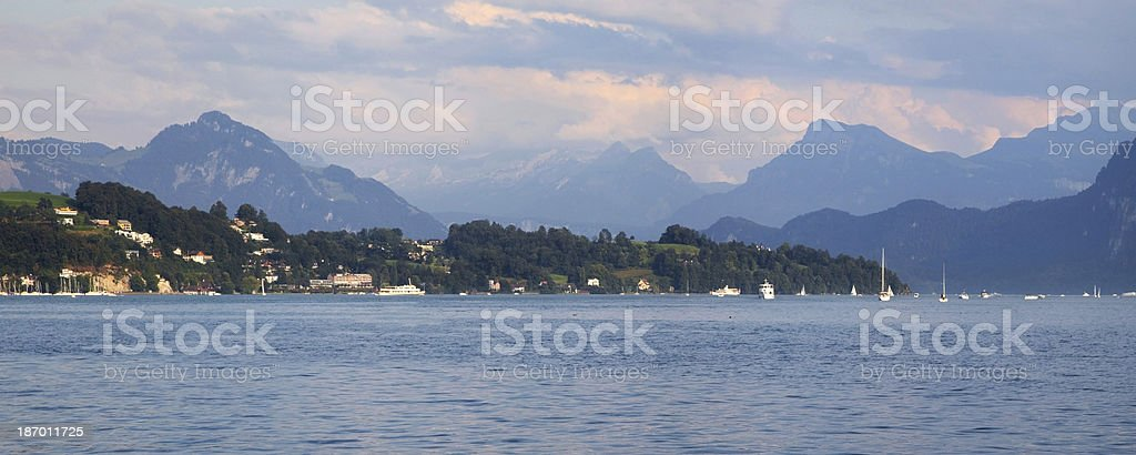 Lake Lucerne royalty-free stock photo