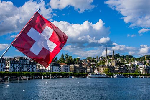 Lake Lucerne, the fourth largest lake of Switzerland