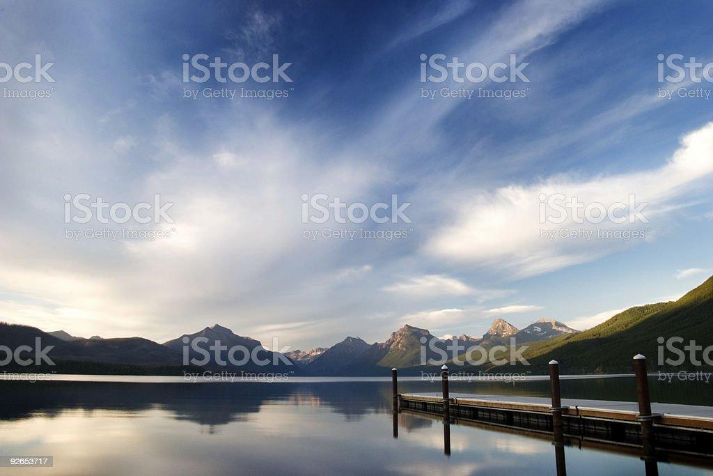 Lake Macdonald - Evening Light royalty-free stock photo