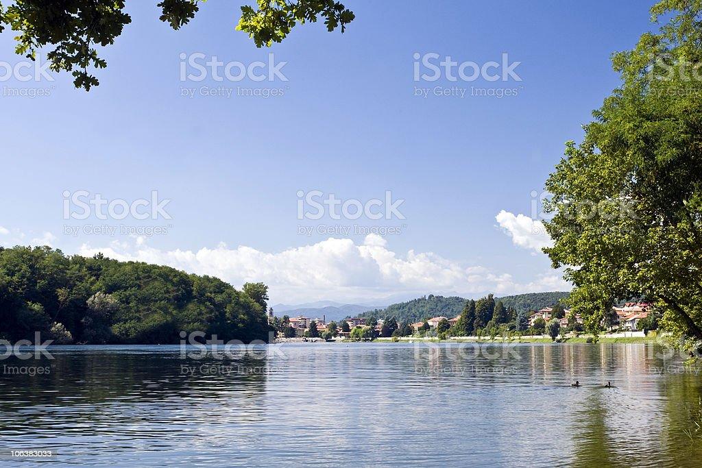 Lake Maggiore royalty-free stock photo