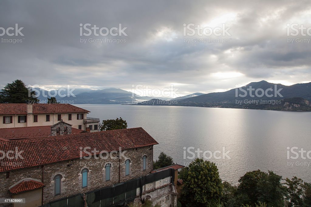 Lake Maggiore royalty-free stock photo