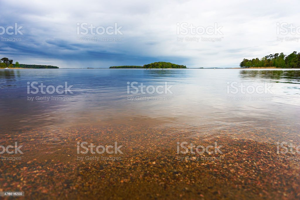 Lake Malaren stock photo