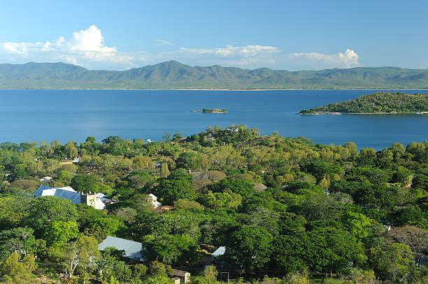 Lake Malawi, Likoma Island stock photo