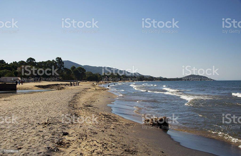 Lake Malawi stock photo