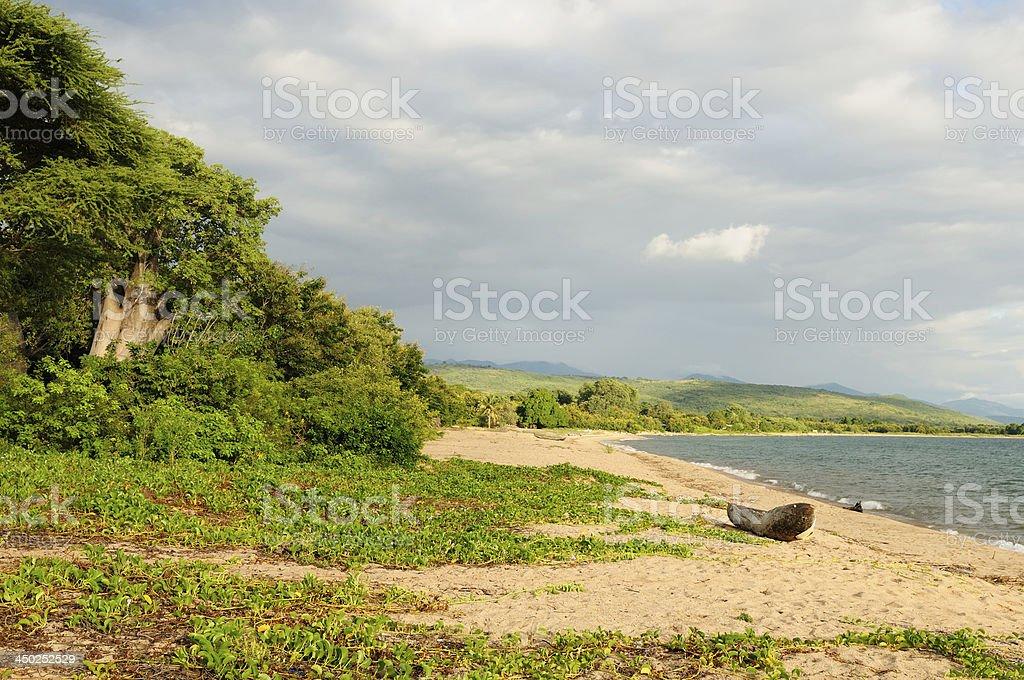 Lake Malawi (Nyasa), Tanzania stock photo