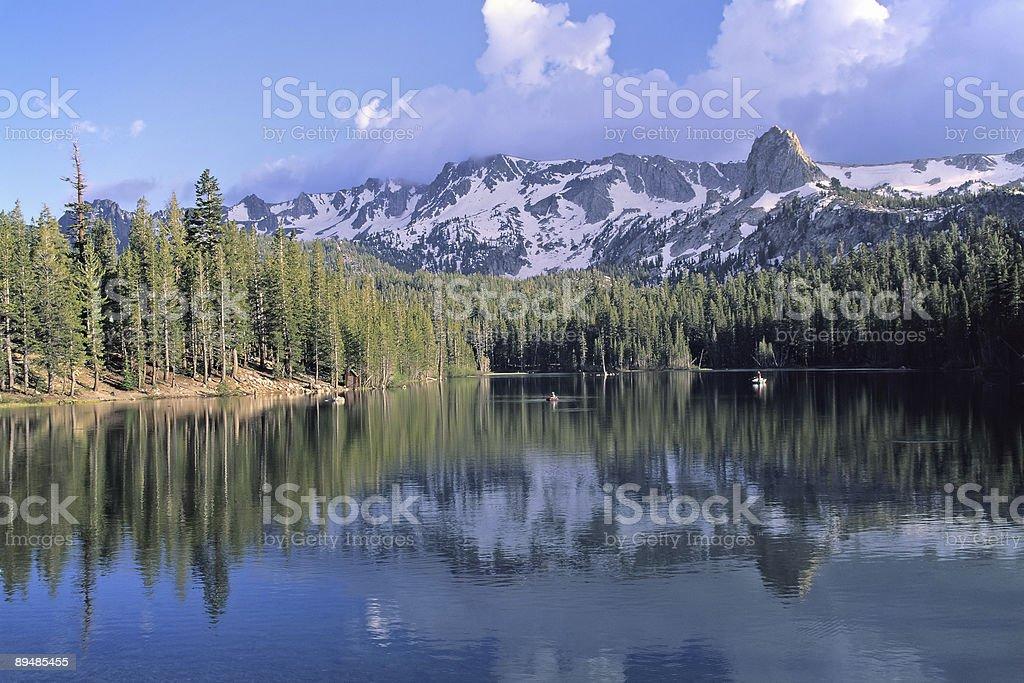 Lake Mamie - Mammoth stock photo
