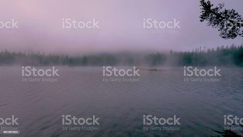 Lake Manitoba stock photo