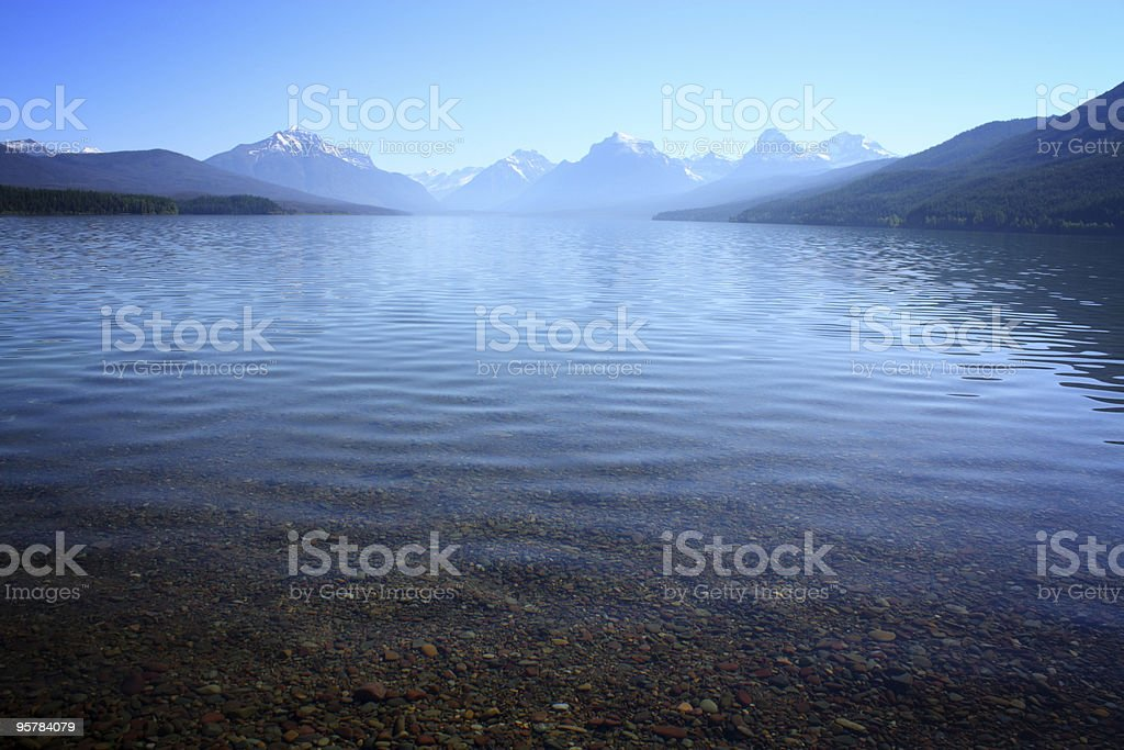 Lake McDonald, Glacier National Park royalty-free stock photo