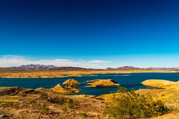 Lake Mead National Recreation Area (US National Park) stock photo