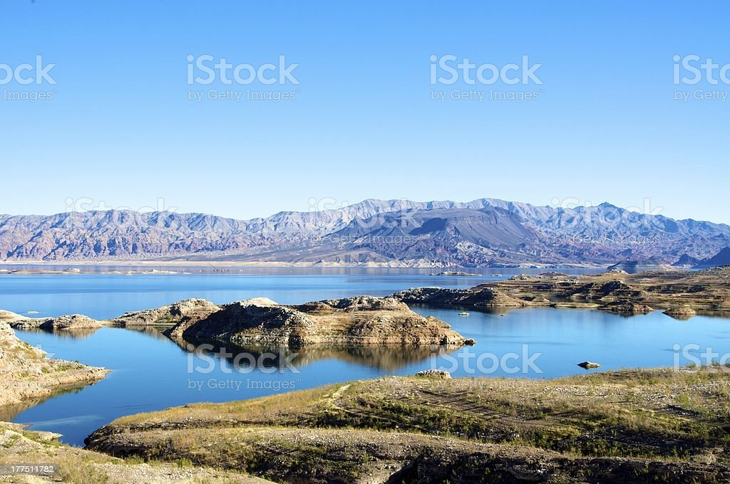 Lake Mead National Recreation Area royalty-free stock photo