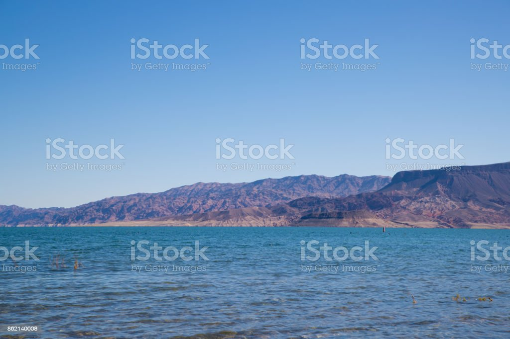 Lake Mead - Nevada stock photo