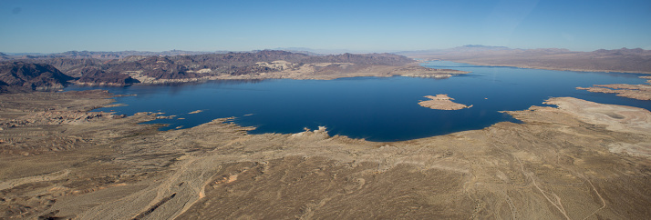 Lake Mead Panoramic View, Nevada, Arizona