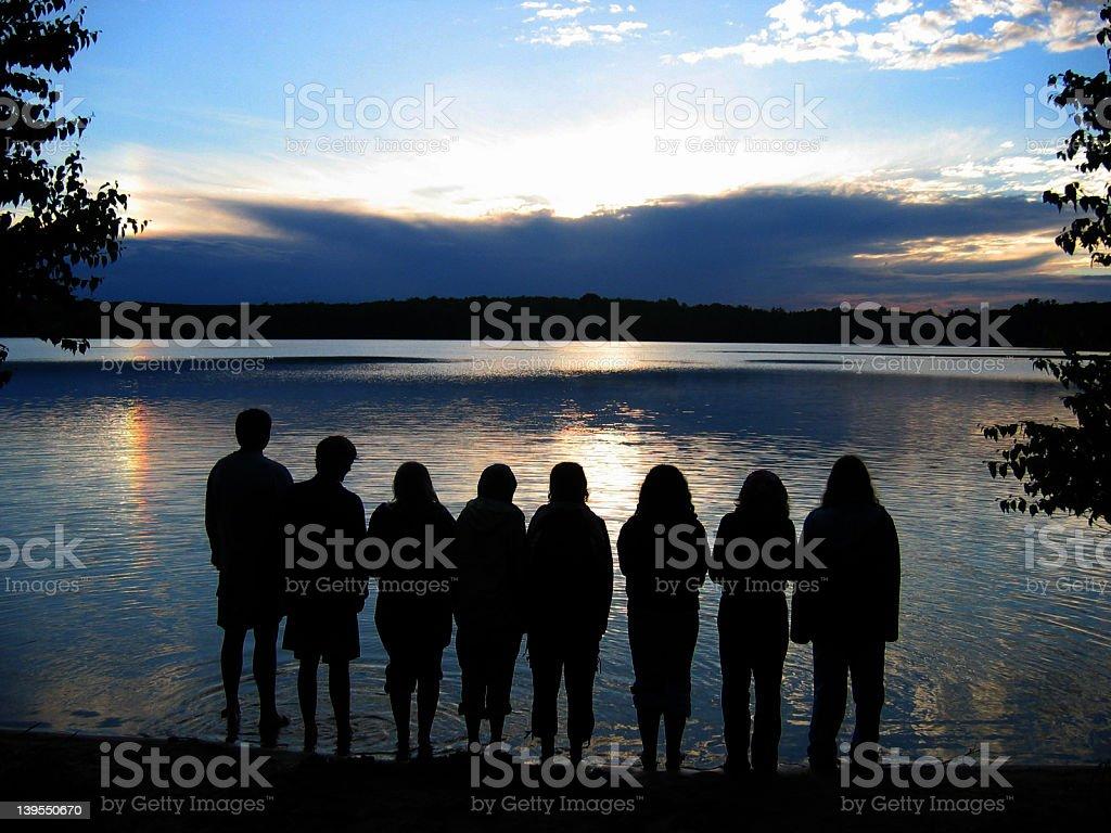 Lake Memories stock photo