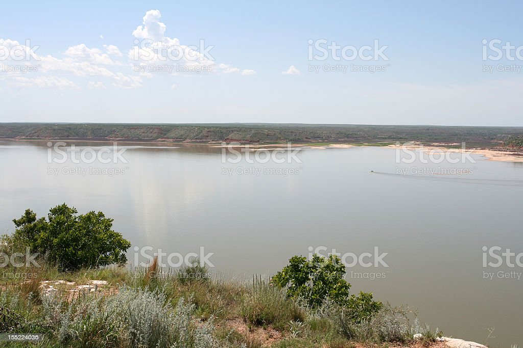 Lake Meredith National Recreation Area stock photo