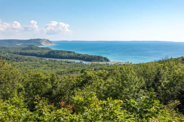 Lake Michigan Overlook a Sleeping Bear Dunes
