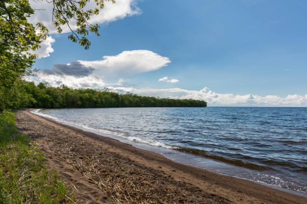 Lake Mille Lacs stock photo