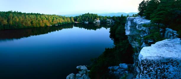 Lake Minnewaska 1 stock photo