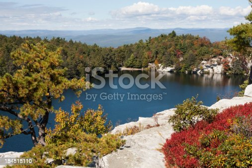 Minnewaska State Park in  Ulster County, New York.
