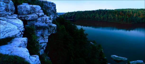 Lake Minnewaska2 stock photo