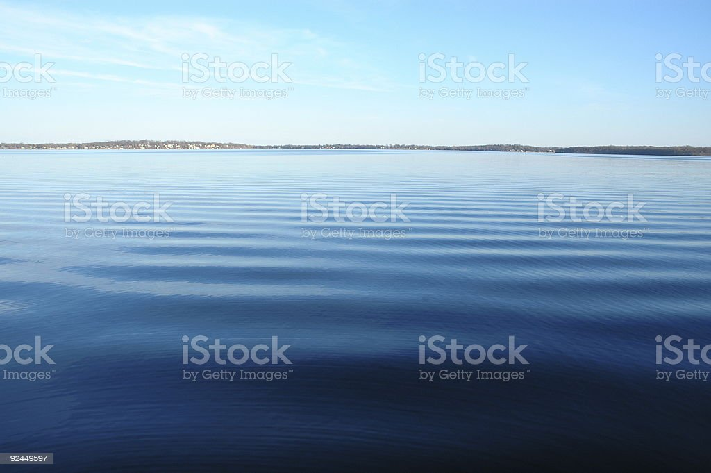 Lake Monona, Madison, WI stock photo