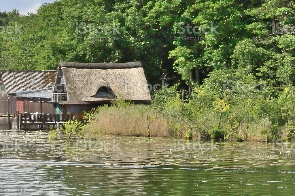 Lake Müritz stock photo