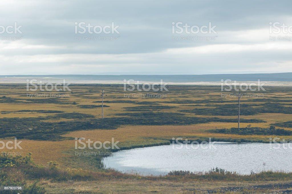 Lake Myvatn area, Iceland stock photo