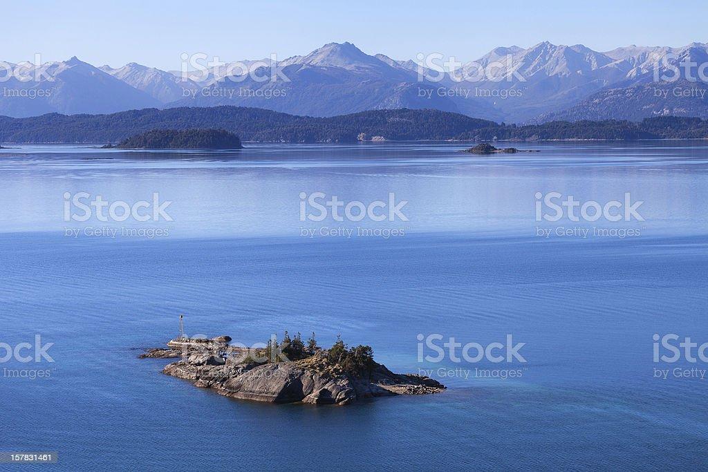Lake Nahuel Huapi, Bariloche, Argentina royalty-free stock photo