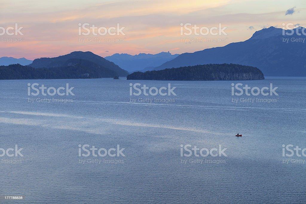 Lake Nahuel Huapi, Villa la Angostura, Patagonia, Argentina stock photo