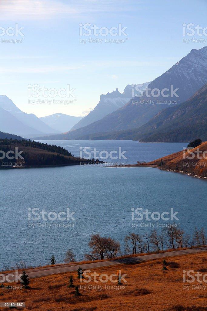 Lake Narrows stock photo