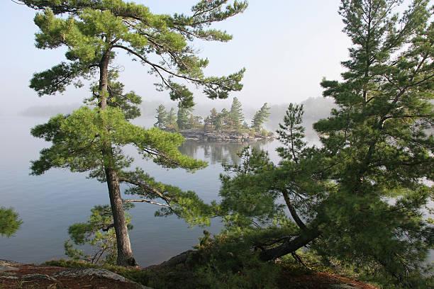 Lake Nipissing stock photo