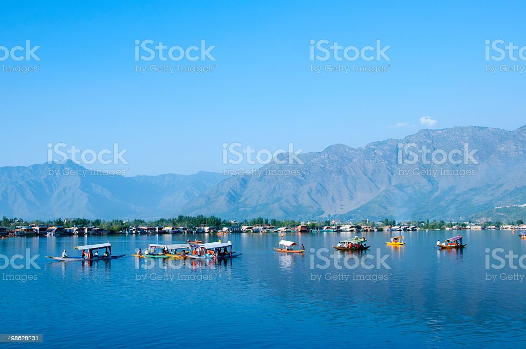 Lake Of  Blue Water stock photo
