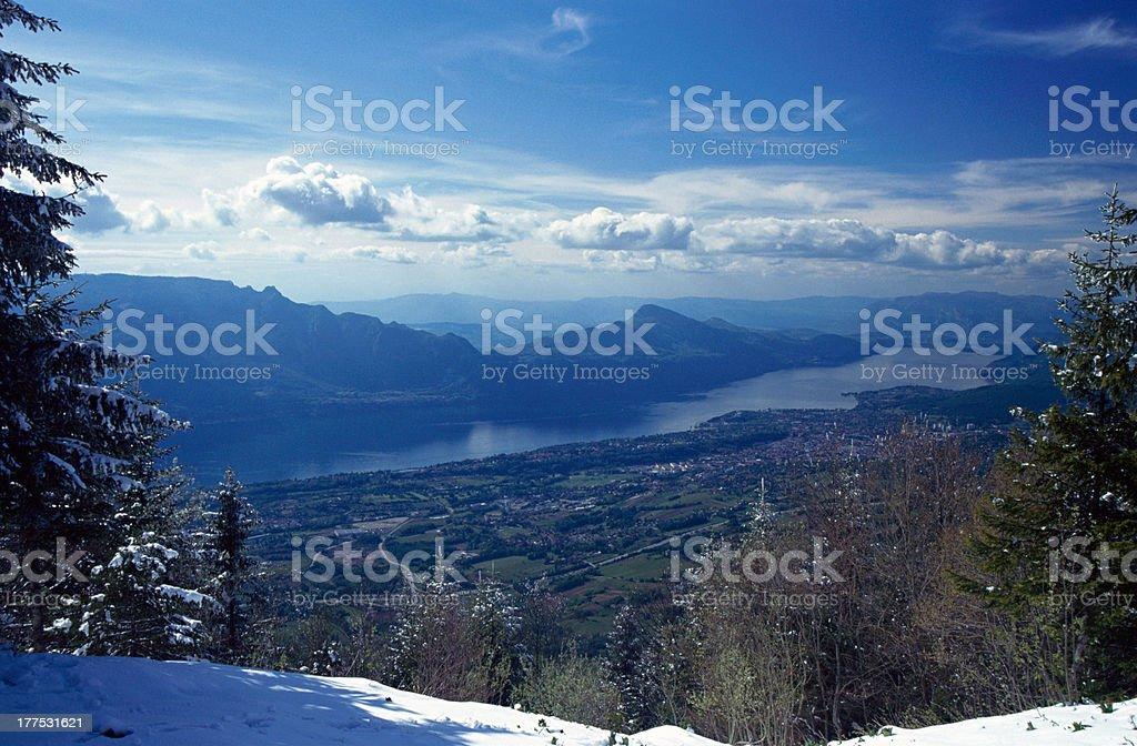 Lac du Bourget en hiver - Photo