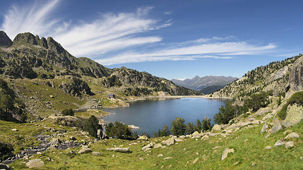 lake of colomers - lleida 個照片及圖片檔
