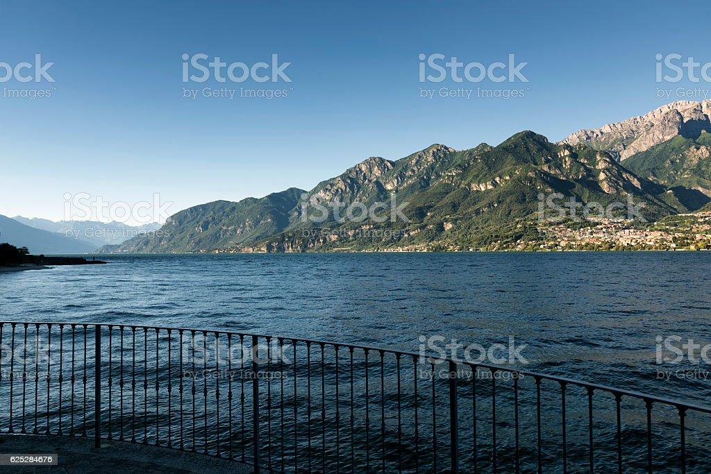 Lake of Como (Italy): Oliveto Lario stock photo
