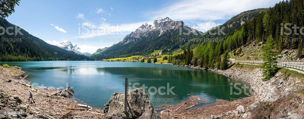 Lake of Sufers. stock photo