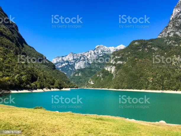 Photo of Lake of the Mis, in the valley of the Mis -National park of the Dolomites