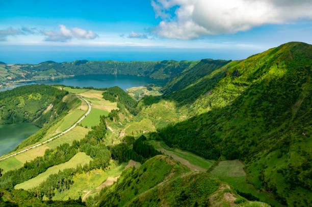 See der sieben Städte - lagoa das sete cidades -Insel Sao Miguel ,Azoren, Portugal – Foto