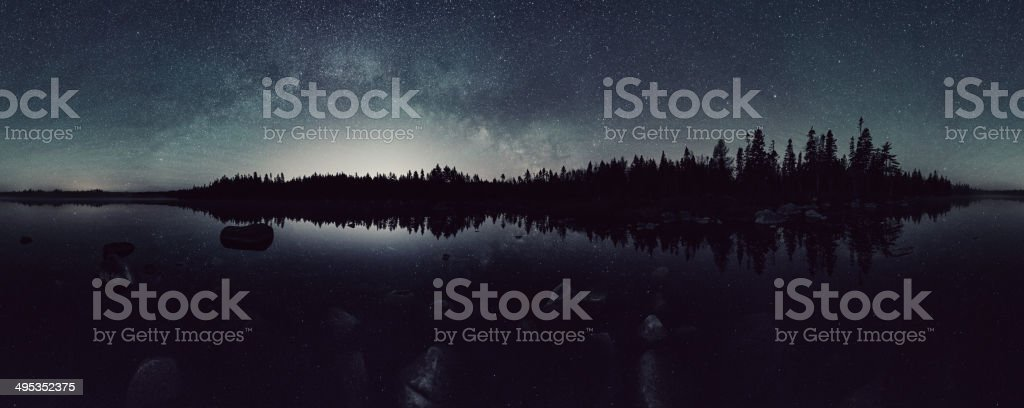 Lake of the Stars stock photo