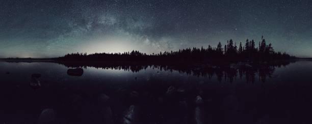 Lake of the Stars bildbanksfoto