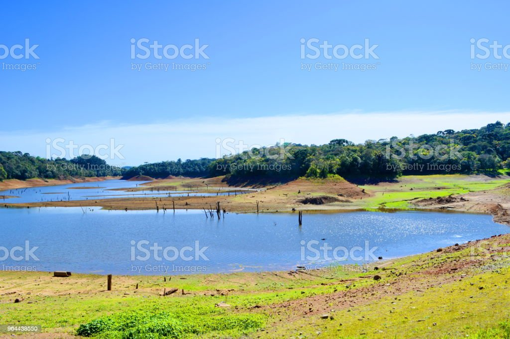 Lake of the Vossoroca Dam - Royalty-free Accidents and Disasters Stock Photo