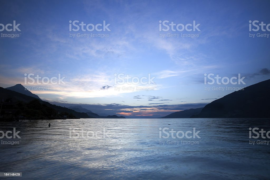 Lake of Thun - Switzerland royalty-free stock photo