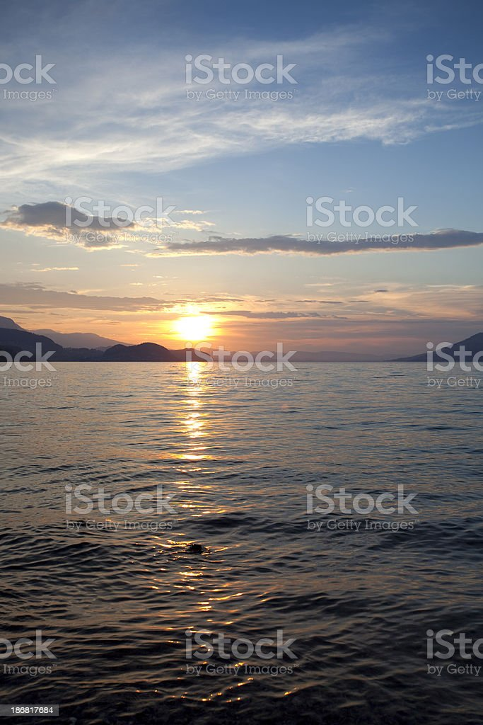 Lake of Thun - Switzerland royalty-free stock photo