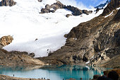 Mount Fitz Roy in patagonia argentina. Los glaciares national park