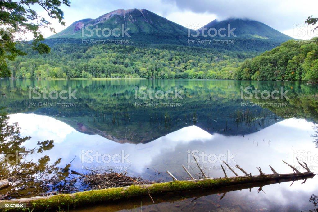 Lake Onneto royalty-free stock photo