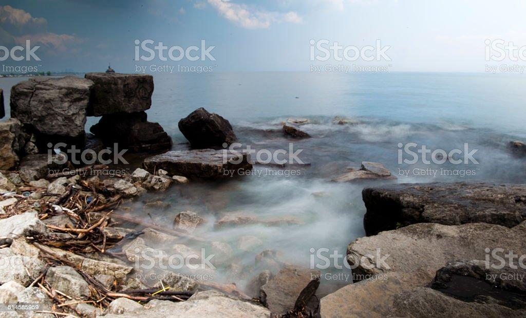 Lake Ontario stock photo