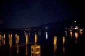 Lake Orta, Night Scene - Italy